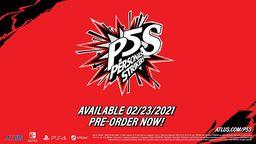 《女神異聞錄5 亂戰:魅影攻手》將于明年2月登陸Steam平臺