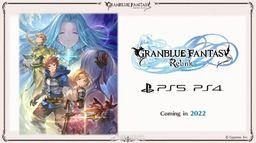 《碧藍幻想Relink》2022年登陸PS4和PS5 最新試玩影像公開
