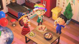 《集合啦!动物森友会》迎来年末倒计时 追加四种跨年食品装饰