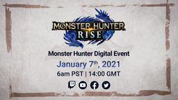 《怪物猎人 崛起》将于1月7日晚举办发布会公布重大新闻