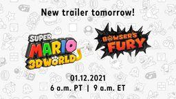 《超級馬力歐3D世界 + 狂怒世界》最新宣傳片將于今日公開