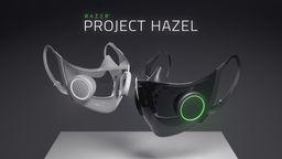 雷蛇RGB智能口罩「Project Hazel」概念发表 可提供动态灯光效果