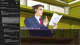 如果将网络对线现场搬到《逆转裁判》法庭会是怎样的