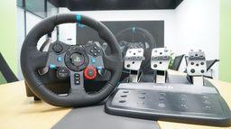 罗技G29方向盘次世代主机使用体验谈 高性价比的入门选择