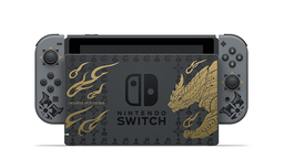 《怪物猎人 崛起》公布限定版Switch主机及限定Pro手柄