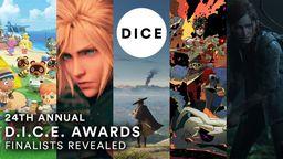DICE 2021大奖提名名单公布 《最后生还者2》获得11项提名