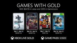 Xbox金會員2021年3月會免游戲:戰爭前線、合金彈頭3等