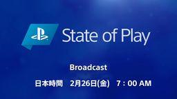 索尼將于2月26日舉辦State of Play 本次直播以游戲為中心