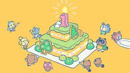 《集合啦!动物森友会》发售一周年 官推发布纪念贺图