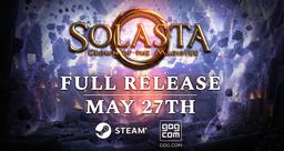EA特别好评 TRPG游戏Solasta正式版将于5月27日在Steam上线!