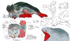《怪物猎人 崛起》河童蛙设计稿公开 包含初稿和弃案