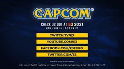 E3 2021:Capcom发布会将于北京时间6月15日5点30分举办