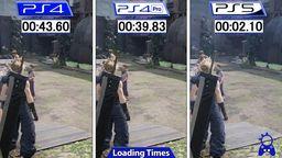 《最终幻想7 重制版》PS5与PS4版对比视频公开 读取缩短至2秒