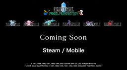 《最终幻想 像素复刻版》发布 登陆Steam和手机平台