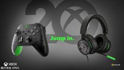 Xbox 20周年特别版手柄公布 可解锁专属动态背景
