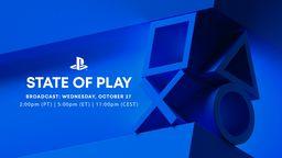 索尼State of Play直播将于北京时间10月28日5点举行