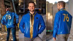 国外网友调侃《辐射76》新款夹克 用塑料袋自制山寨版本