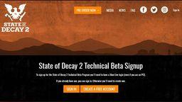 微软独占游戏《腐烂国度2》已开放Win10平台Beta申请