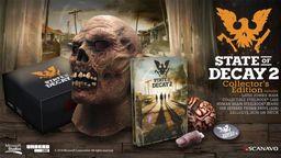 《腐烂国度2》收藏版公布 含丧尸面具和大脑支架售价70美元