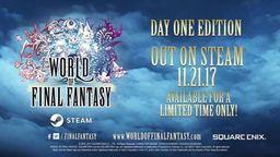 《最终幻想世界》登陆Steam平台 支持简体中文