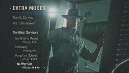 《生化危机2 重制版》幽灵生还者DLC包含第四位隐藏角色