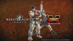 《怪物猎人世界》将与《街霸5》联动 推出隆和樱任务
