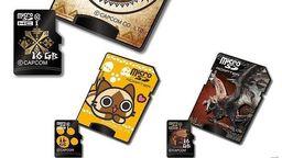 《怪物猎人》推出三款主题microSDHC卡 容量16G四月上市