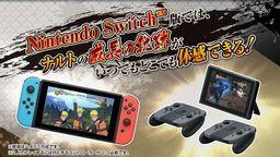 《火影忍者究极忍者风暴三部曲》公布Switch版发售日与详情