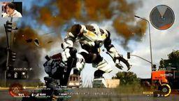 《地球防卫军 铁雨》全新战斗演示公开 对抗全新巨型敌人
