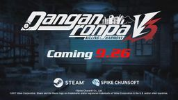 《新弹丸论破V3》9月26日发售PC版 美版PS4/PSV版同日上市