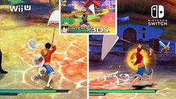 《海贼王 无尽世界 红》任天堂三平台官方画面对比视频
