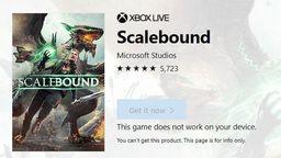 《龙鳞化身》商品页面再次出现在美国微软商店 然而并没活