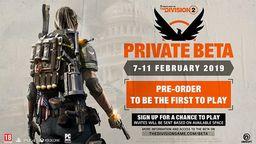 《全境封锁2》独享测试2月7日开启 体验终局游戏内容