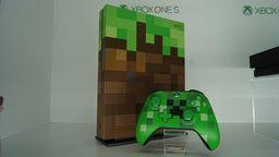 我的世界限定版Xbox One S实拍