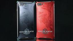 《怪物猎人 世界》xGILD design高端手机壳18年1月发售