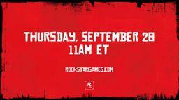 R星将在9月28日公布《荒野大镖客2》第二段宣传片