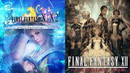 NS版《最终幻想10/10-2 HD》《最终幻想12?#20998;?#25345;中文