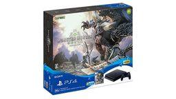 《怪物猎人世界》推出PS4主机同捆版 限定版手柄单独销售