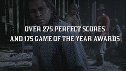 《荒野大镖客2》宣传短片 已获得275个满分与175个年度游戏