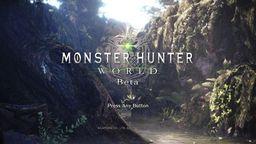 《怪物猎人世界》将举办第二次测试 不是PS+也能参加