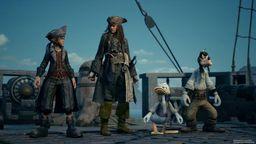 《王国之心3》三个E3宣传片日语配音版 高清设定图与画面