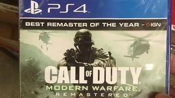 《使命召唤4 现代战争重制版》单独售卖包装图泄露 或在6月底发售