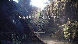 《怪物猎人 世界》公布BETA测试具体时间安排
