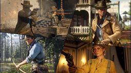 《荒野大镖客2》公开一波高清游戏截图画面 场景美轮美奂