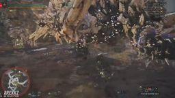 《怪物猎人世界》新地图瘴气之谷和新怪物骨锤龙演示