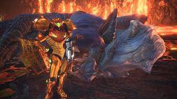 萨姆斯大战炎妃龙 那个怪物猎人世界马路牙子战神又来了