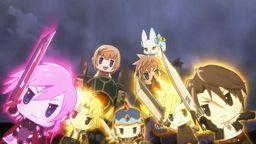 《最终幻想世界》开场动画公布 游戏与动画Q版萌到不行