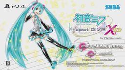 PS4版《初音未来 歌姬计划X HD》确定8月25日发售