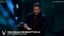 RDR2主角摩根扮演者Roger Clark获TGA2018最佳表演奖