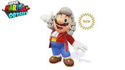 《超级马里奥 奥德赛》发布马里奥新造型 化身乐团指挥家